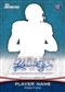 2012 Bowman Signatures Football Hobby 12-Box Case