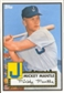 2012 Topps Heritage Baseball  #409 Micky Mantle Joplin (Baltimore National Convention)
