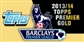 2013 Topps English Premier League Gold Soccer Hobby 6-Box Case
