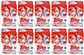 2013 Topps Update Baseball Hanger Pack (Blue Parallel)(Lot of 10)