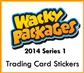Wacky Packages Series 1 Trading Cards Stickers 8-Box Case (Topps 2014) (Presell)