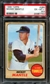 1968 Topps Baseball #280 Mickey Mantle PSA 6.5 (EX-MT+) *1743