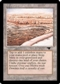 Magic the Gathering Antiquities Single Strip Mine (Sky, Uneven Land) - SLIGHT PLAY (SP)