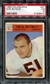 1966 Philadelphia Football #31 Dick Butkus Rookie PSA 3 (VG) *9312