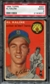 1954 Topps Baseball #201 Al Kaline Rookie PSA 2 (GOOD) *9377