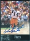 1997 Upper Deck Legends Autographs #AL7 Dan Fouts