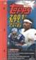 2001 Topps Football 36 Pack Box