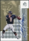 2000 Upper Deck SP Authentic Sign of the Times #CM Cade McNown Autograph