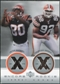 2000 Upper Deck Encore Rookie Combo Jerseys #RC4 Peter Warrick Courtney Brown
