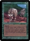 Magic the Gathering Alpha Single Timber Wolves - NEAR MINT (NM)