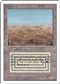 Magic the Gathering Unlimited Single Scrubland - MODERATE PLAY (MP)