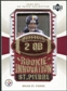 2003 Upper Deck UD Patch Collection Gold Patches #129 Brian St. Pierre RC /25