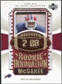 2003 Upper Deck UD Patch Collection Gold Patches #137 Willis McGahee RC /25