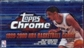 1999/00 Topps Chrome Basketball Hobby Box