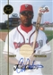 2000 Just Gamers Autograph #JG5 Corey Patterson Bat JF 1/24