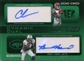 2009 Topps Unique Dynamic Dual Autographs #OE Chad Ochocinco Braylon Edwards /25
