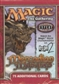 Magic the Gathering Mercadian Masques Tournament Starter Deck