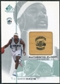 2000/01 Upper Deck SP Game Floor Authentic Floor #BD Baron Davis