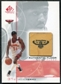 2000/01 Upper Deck SP Game Floor Authentic Floor #JT Jason Terry