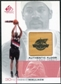 2000/01 Upper Deck SP Game Floor Authentic Floor #RW Rasheed Wallace AS