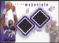 2000/01 Upper Deck SPx Winning Materials #MM1 Karl Malone Game Jersey/Shorts
