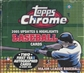 2005 Topps Chrome Updates & Highlights Baseball Hobby Box
