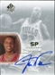 2002/03 Upper Deck SP Authentic SP Signatures #JW Jay Williams