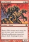 Magic the Gathering 8th Edition Single Lava Hounds - NEAR MINT (NM)