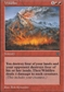 Magic the Gathering Portal 2 Single Wildfire - NEAR MINT (NM)