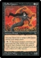 Magic the Gathering Tempest Single Coffin Queen MODERATE PLAY (VG/EX)