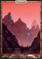 Magic the Gathering Unhinged Single Mountain - NEAR MINT (NM)