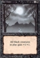 Magic the Gathering 3rd Ed (Revised) Single Bad Moon - NEAR MINT (NM)