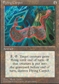 Magic the Gathering 4th Edition Single Flying Carpet - SLIGHT PLAY (SP)