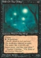 Magic the Gathering 4th Edition Single Will-o'-the-Wisp - MODERATE PLAY (MP)