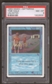 Magic the Gathering Unlimited Single Time Walk PSA 8
