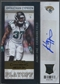 2013 Panini Contenders #147B Johnathan Cyprien Playoff Ticket Variation Auto SP #57/99