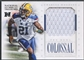 2012 Panini National Treasures #11 Charles Woodson Colossal Materials Pro Bowl Jersey #60/75