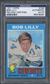 1971 Topps #144 Bob Lilly Signed Auto PSA/DNA