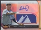 2012 Finest #BL Brett Lawrie Rookie Refractor Jumbo Patch Tag Auto