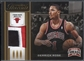 2012/13 Panini Threads #48 Derrick Rose Authentic Threads Patch #22/25