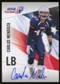 2012 Upper Deck USA Football Autographs #10 Carlos Mendoza Autograph