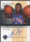 2005/06 Ultimate Collection #162 Nate Robinson Rookie Auto #078/250