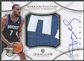2012/13 Immaculate Collection #DW Derrick Williams Rookie Jumbo Patch Auto #24/75