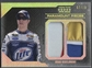2014 Press Pass Five Star #PPBK Brad Keselowski Paramount Pieces Holofoil Sheet Metal Firesuit #07/10