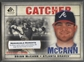 2008 SP Legendary Cuts #90 Brian McCann Memorable Moments #1/1