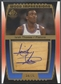2004/05 SP Game Used #IT Isiah Thomas Wood Impressions Auto #34/75