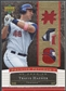2007 Upper Deck Premier #HA Travis Hafner Triple Gold Patch #17/48