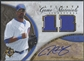 2006 Ultimate Collection #DL Derrek Lee Game Materials Signatures Jersey Auto #12/35