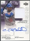 2001 Upper Deck Pros and Prospects #GS Gary Sheffield Jersey Auto