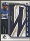 "2006 SP Authentic #RW Rickie Weeks By the Letter ""W"" Patch Auto #085/100"
